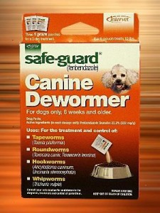 Safe Guard Dog Dewormer