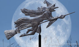 The Whitehall Flying Witch Garden Weathervane Can Decorate Your Outdoor Space